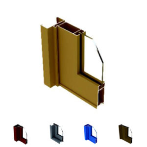 Aluminum Casement Door Profile