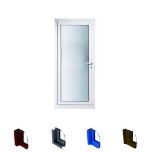 Aluminium Casement Door System