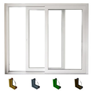 Aluminum sliding window system